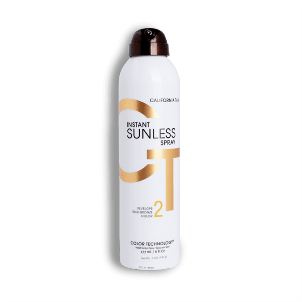 california sunless tan spray